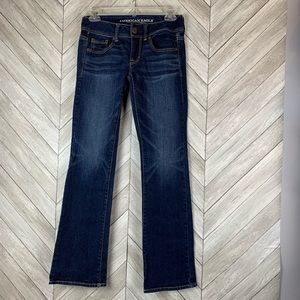 American Eagle kick boot jeans. Size 0